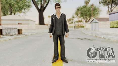Scarface Tony Montana Suit v2 with Glasses for GTA San Andreas second screenshot
