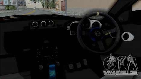 Nissan 350Z V6 Power for GTA San Andreas inner view