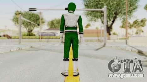 Power Rangers Lost Galaxy - Green for GTA San Andreas third screenshot