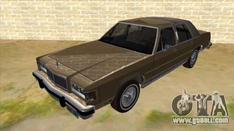 Mercury Grand Marquis 1986 v1.0 for GTA San Andreas