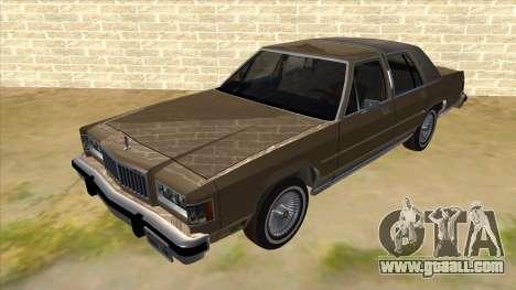 Mercury Grand Marquis 1986 v1.0 for GTA San Andreas