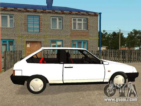 VAZ 2108 Stock by Greedy for GTA San Andreas back left view