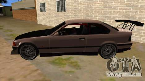 BMW M3 Drift Missile for GTA San Andreas left view
