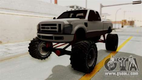 Ford F-350 Super Duty Monster Truck for GTA San Andreas