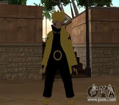 Naruto Ashura for GTA San Andreas third screenshot