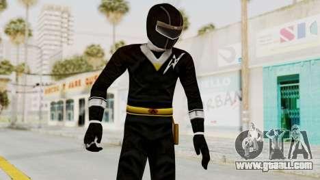 Alien Rangers - Black for GTA San Andreas