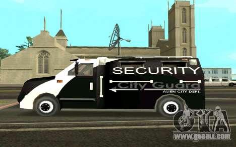 Van collectors for GTA San Andreas left view