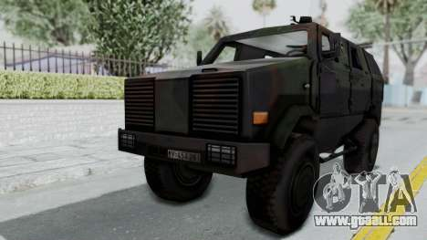 ATF Dingo for GTA San Andreas