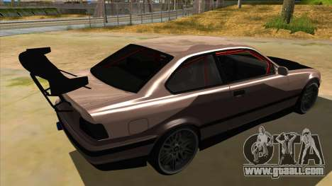 BMW M3 Drift Missile for GTA San Andreas right view