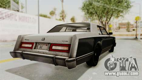 GTA 5 Dundreary Virgo IVF for GTA San Andreas left view