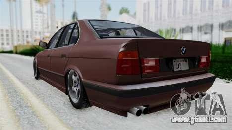 BMW 525i E34 1994 SA Plate for GTA San Andreas left view