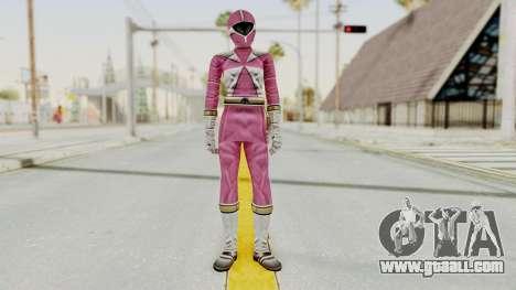 Power Rangers Lightspeed Rescue - Pink for GTA San Andreas second screenshot