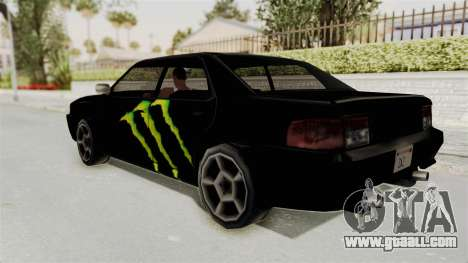 Monster Sultan for GTA San Andreas left view