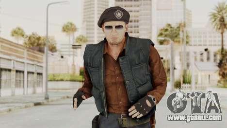 MGSV Phantom Pain Rogue Coyote Commander for GTA San Andreas