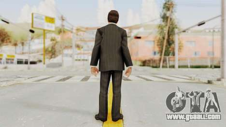 Scarface Tony Montana Suit v2 with Glasses for GTA San Andreas third screenshot