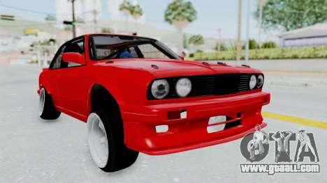BMW M3 E30 Rocket Bunny Drift Style for GTA San Andreas