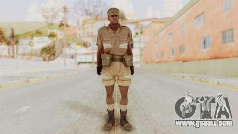 MGSV Phantom Pain CFA Soldier v1 for GTA San Andreas second screenshot