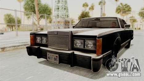 GTA 5 Dundreary Virgo IVF for GTA San Andreas