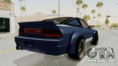 Nissan Silvia Sil80 for GTA San Andreas right view