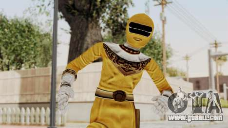 Power Ranger Zeo - Yellow for GTA San Andreas