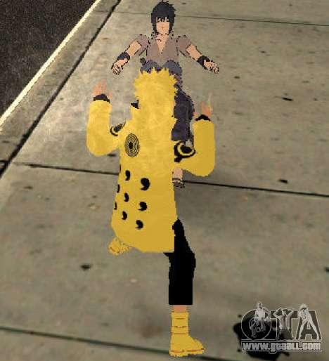 Naruto Ashura for GTA San Andreas forth screenshot