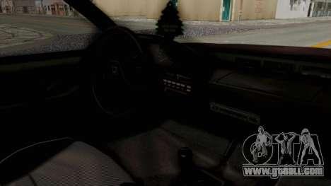 Blista CRX for GTA San Andreas inner view