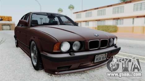 BMW 525i E34 1994 SA Plate for GTA San Andreas