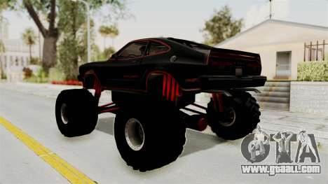 Ford Mustang King Cobra 1978 Monster Truck for GTA San Andreas left view