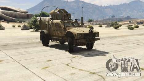 Oshkosh M-ATV 0.01 for GTA 5