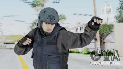 MGSV Phantom Pain Zero Risk Vest v2 for GTA San Andreas