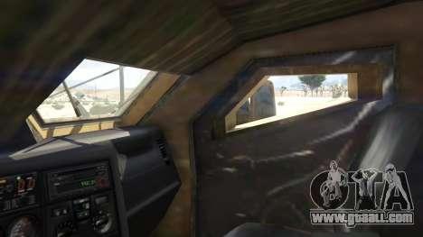 GTA 5 Oshkosh M-ATV 0.01 rear right side view