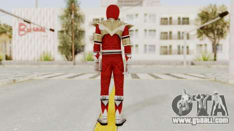 Mighty Morphin Power Rangers - Red Armor for GTA San Andreas third screenshot