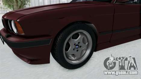 BMW 525i E34 1994 LT Plate for GTA San Andreas back view