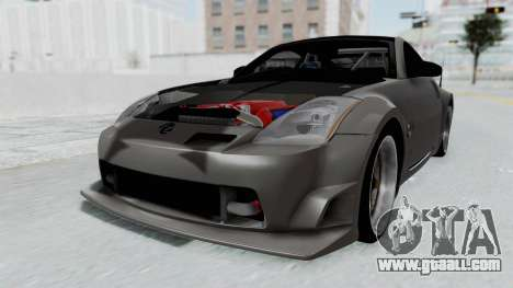 Nissan 350Z V6 Power for GTA San Andreas right view