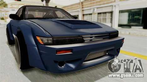Nissan Silvia Sil80 for GTA San Andreas upper view