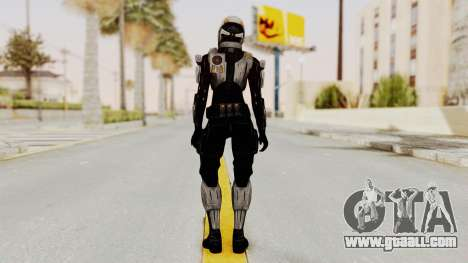 Mass Effect 3 Ajax Female Armor for GTA San Andreas third screenshot