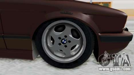 BMW 525i E34 1994 SA Plate for GTA San Andreas back view
