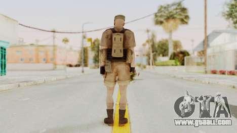 MGSV Phantom Pain CFA Combat Vest 2 v2 for GTA San Andreas third screenshot