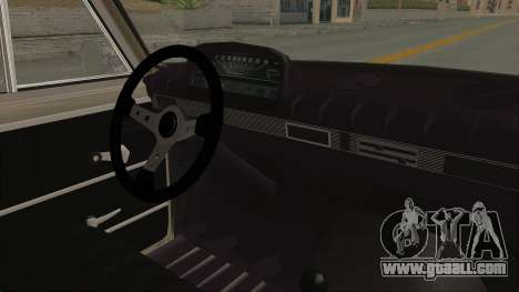 Seat 1430 FU for GTA San Andreas inner view
