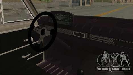 Seat 1430 FU for GTA San Andreas inner view