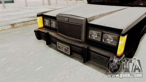 GTA 5 Dundreary Virgo IVF for GTA San Andreas inner view