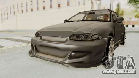 Honda Civic Hatchback 1994 Tuning for GTA San Andreas
