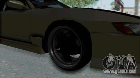 Nissan Sileighty TOD for GTA San Andreas back view