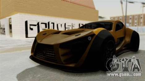 Felino CB7 for GTA San Andreas right view