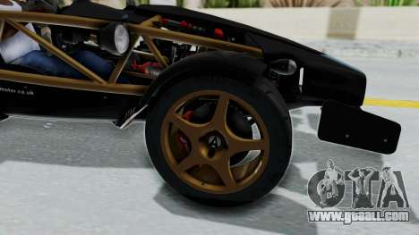Ariel Atom 500 V8 for GTA San Andreas back view