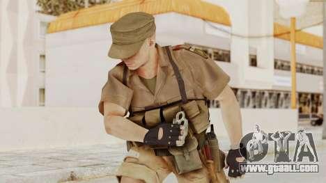 MGSV Phantom Pain CFA Combat Vest 1 v2 for GTA San Andreas