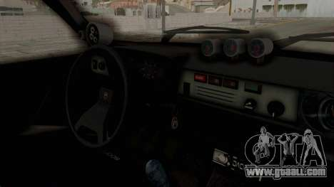Dacia 1310 TX Turbo Police for GTA San Andreas back view