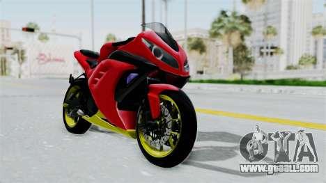 Kawasaki Ninja 250FI Anak Jalanan for GTA San Andreas