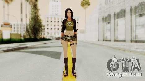 Gallacia Santos for GTA San Andreas second screenshot