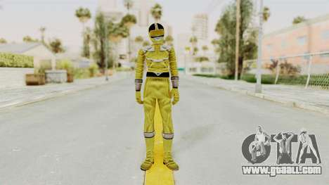 Power Rangers Time Force - Yellow for GTA San Andreas second screenshot